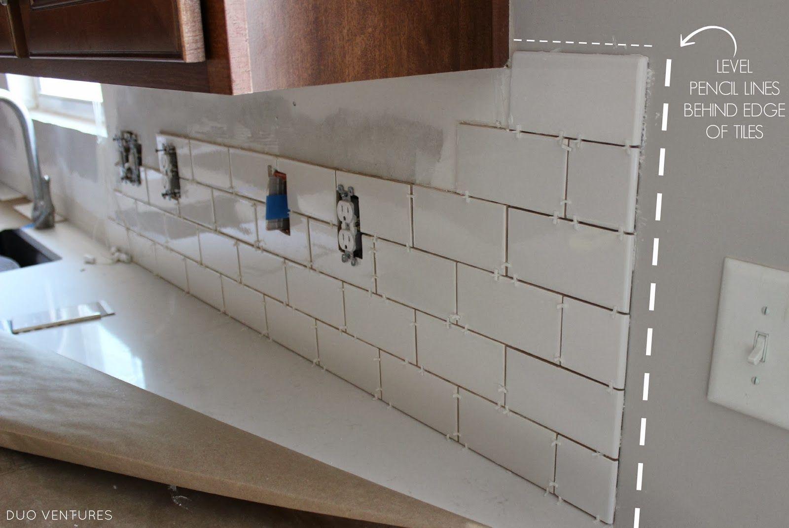 Kitchen Makeover Subway Tile Backsplash Installation Subway Tile Backsplash Kitchen Kitchen Tiles Backsplash Diy Kitchen Countertops