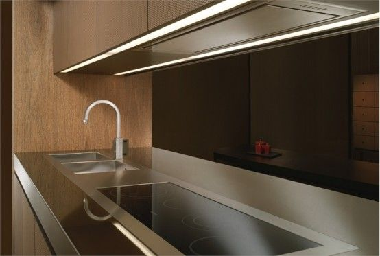 Best Elegant Wooden Kitchen Bridge By Armani Dada Inspiring 400 x 300