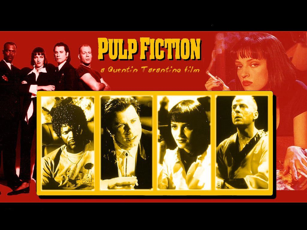 Pin On The Silver Screen Pulp Fiction Essay