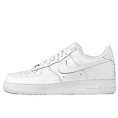 Nike Air Force 1 07 Men's Shoes White/White 315122-111 - size 13