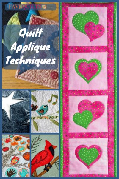 Quilt Applique Techniques Patchwork Applique Patterns And