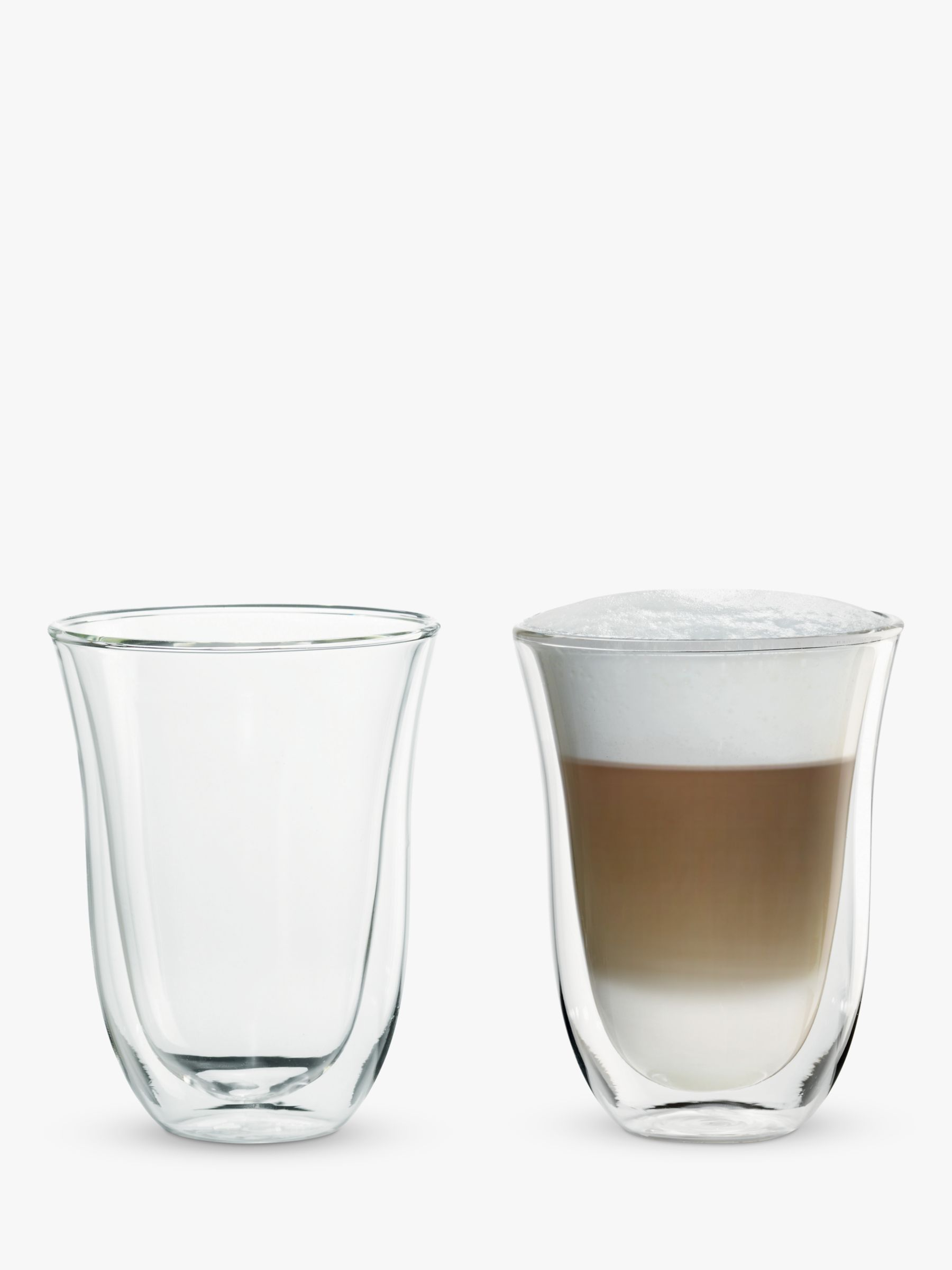 De'Longhi Latte Macchiato Glasses, Set of 2 #lattemacchiato
