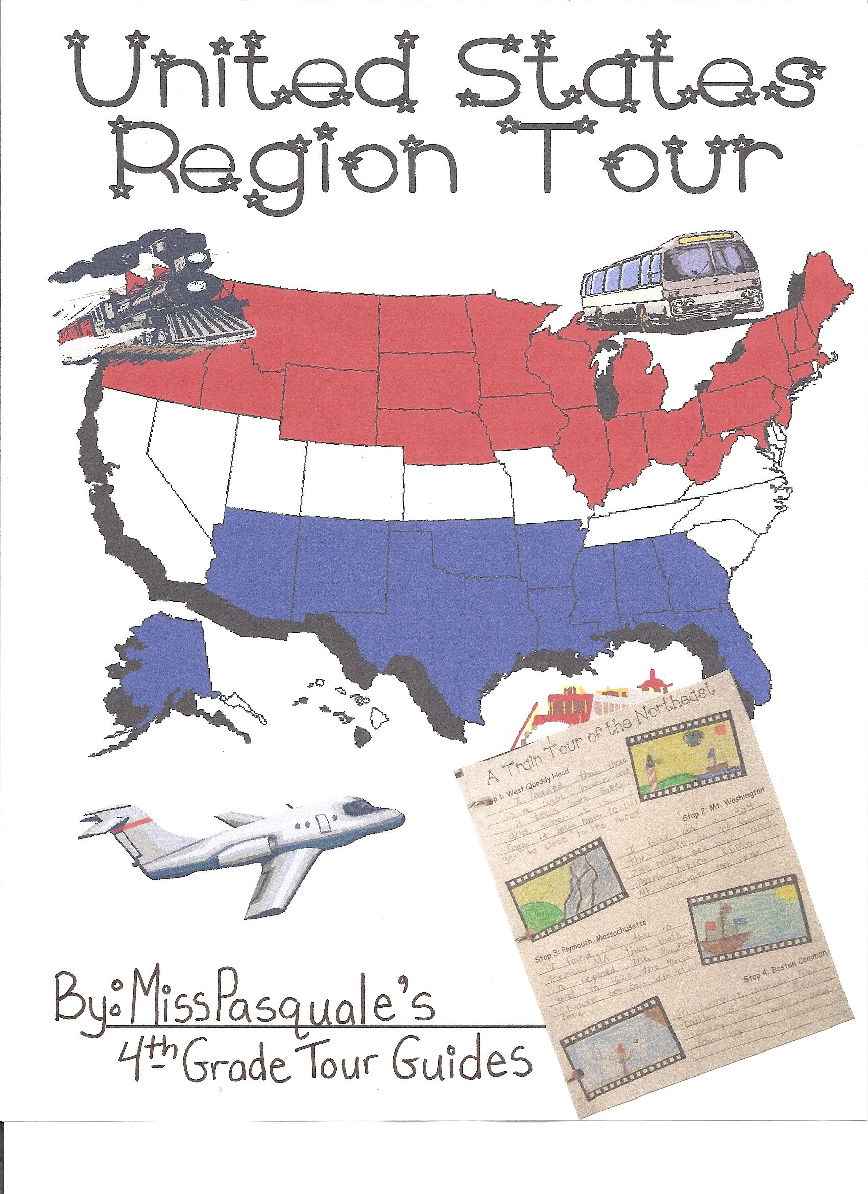 Webquest Tour The Regions Of The United States Created With Zunal