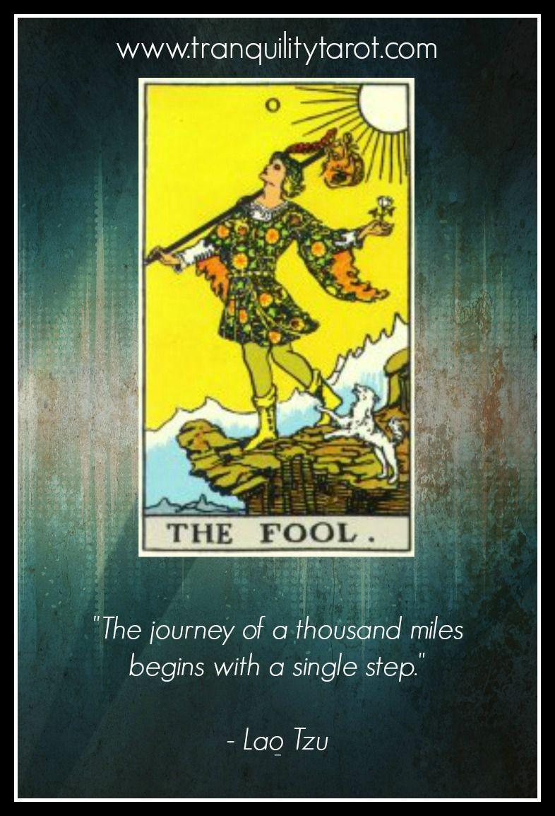 The fool new beginnings tarot tarot card meanings