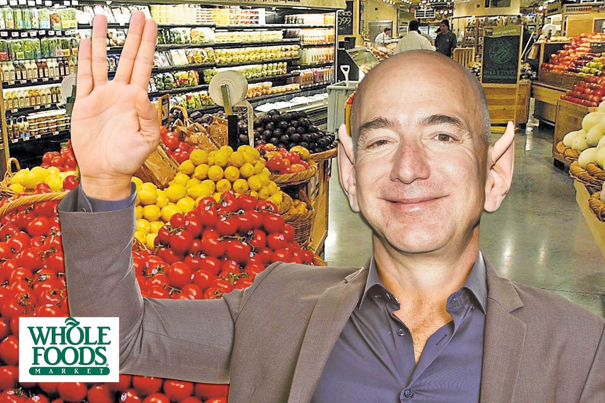 Amazon tests whole foods payment system that lets you pay
