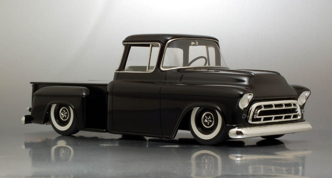 57 Chevy Pickup (Old School) | Bowtie | Pinterest | Chevy pickups ...