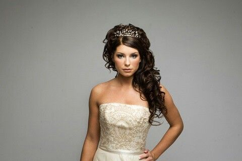 Bridal Tiaras For Curly Hair Google Search