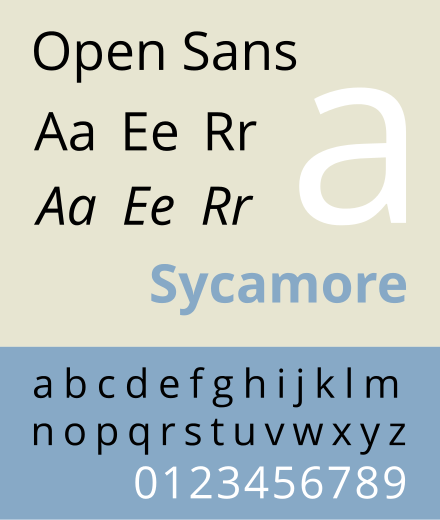 Open Sans Designed By Steve Matteson And Optimized For Legibility On Web Print And Mobile Media With Legibility In Small Sizes San Typography Fonts Typeface