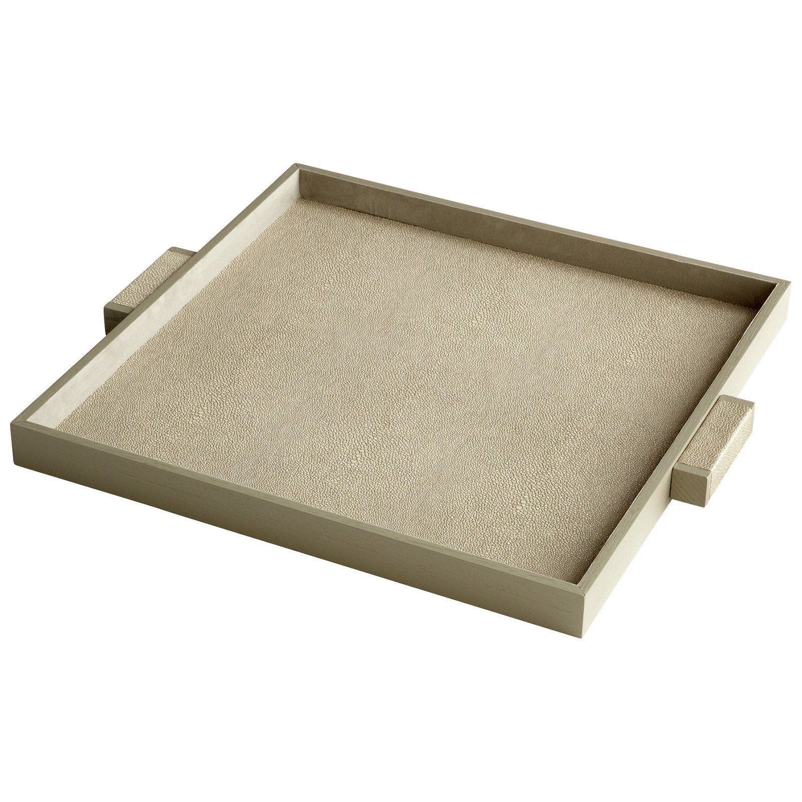 Sensational Brooklyn Tray In Shagreen Products Large Tray Wood Tray Andrewgaddart Wooden Chair Designs For Living Room Andrewgaddartcom