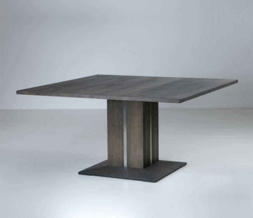 Modern Square Dining Table For 8 Modern Oval Pedestal