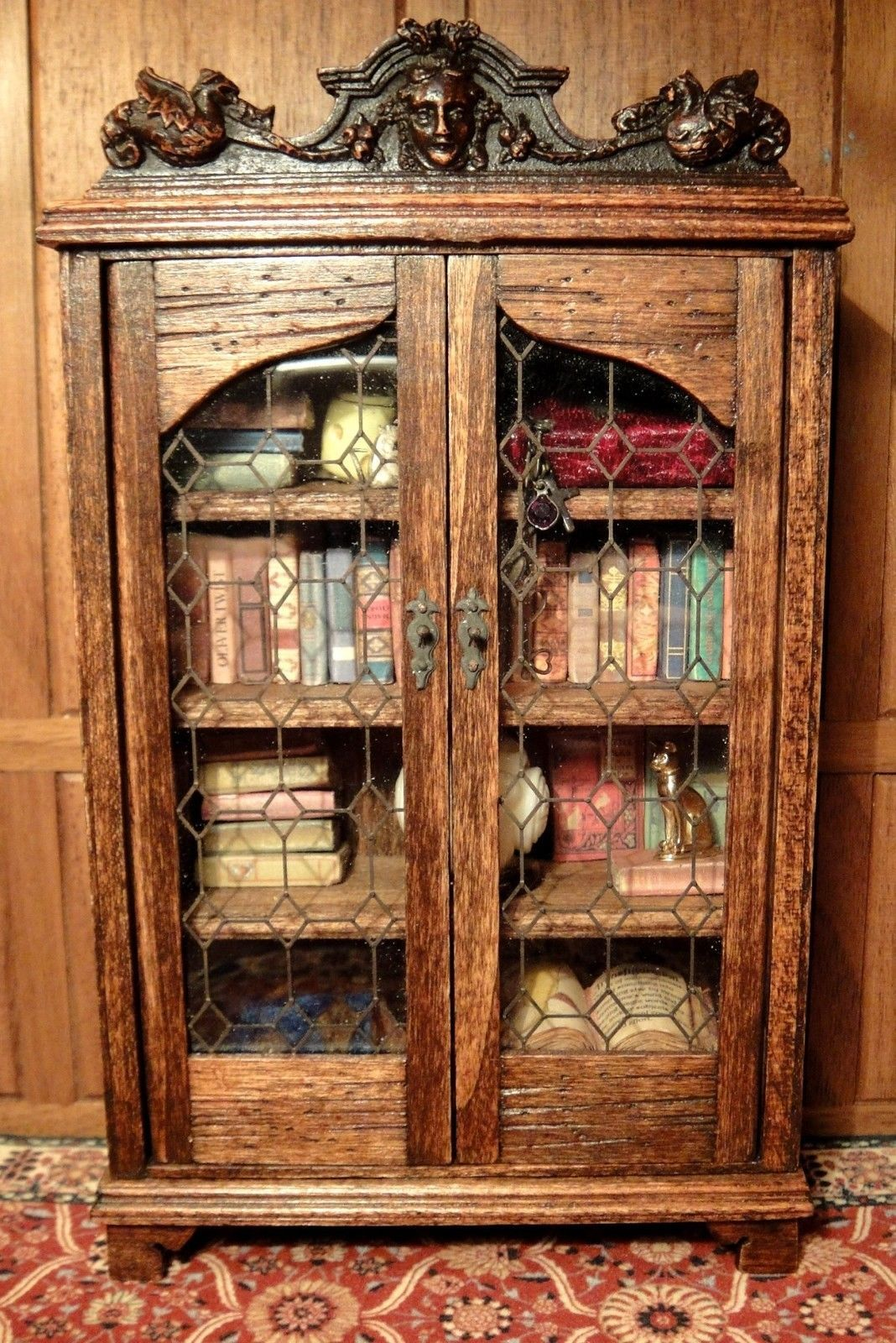 Michael Mortimers Gothic Bookcase Glass Doors