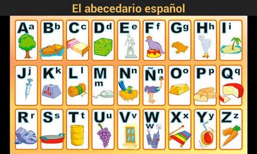 Imagenes Del Abecedario Buscar Con Google Imagenes Del Abecedario Abecedario El Abecedario En Espanol