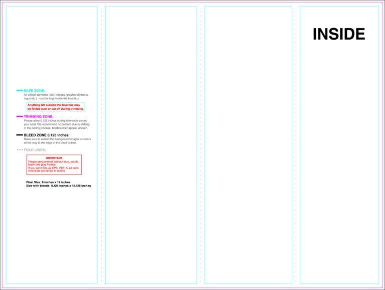 Dreaded Quad Fold Brochure Template Ideas 4 Panel Indesign Within Brochure 4 Fold Template In 2020 Brochure Template Brochure Print Trifold Brochure Template