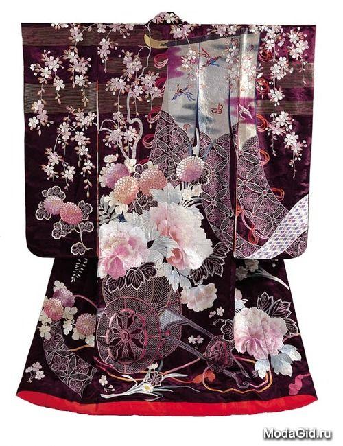 История кимоно: с момента появления до наших дней изоражения