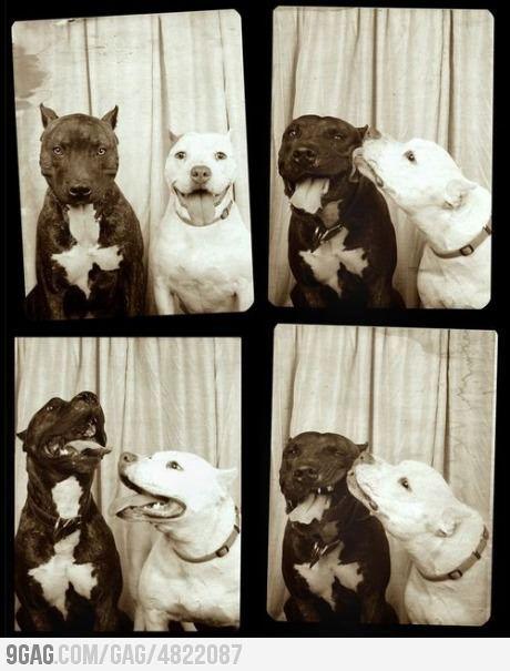 photobooth kiss.