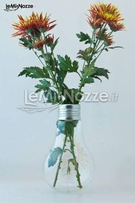 Una lampadina che diventa un vaso che diventa un'idea per le bomboniere matrimonio: ecologiche, intelligenti e creative!