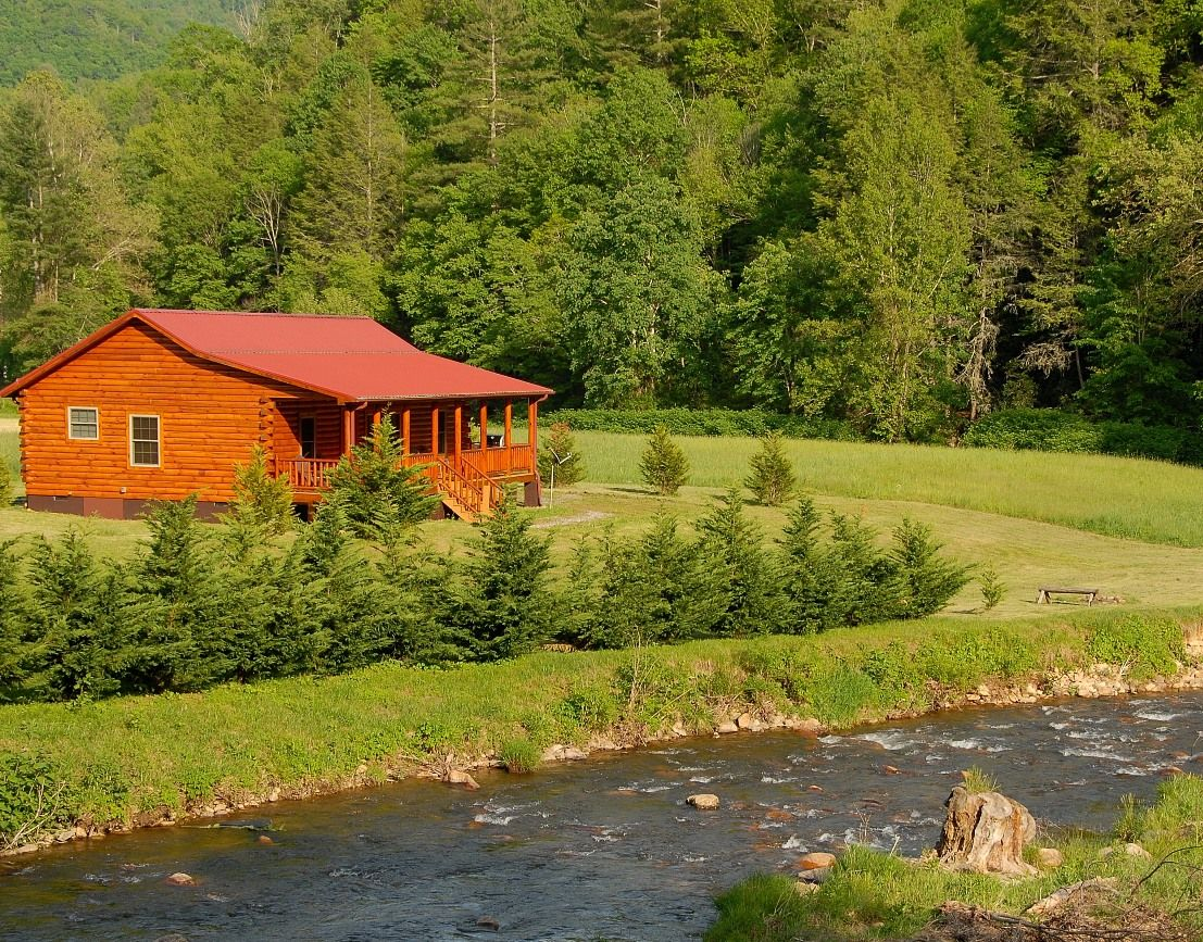 Amenities   Hot Springs NC Luxury Waterfront Log Cabin Near Asheville And  Biltmore