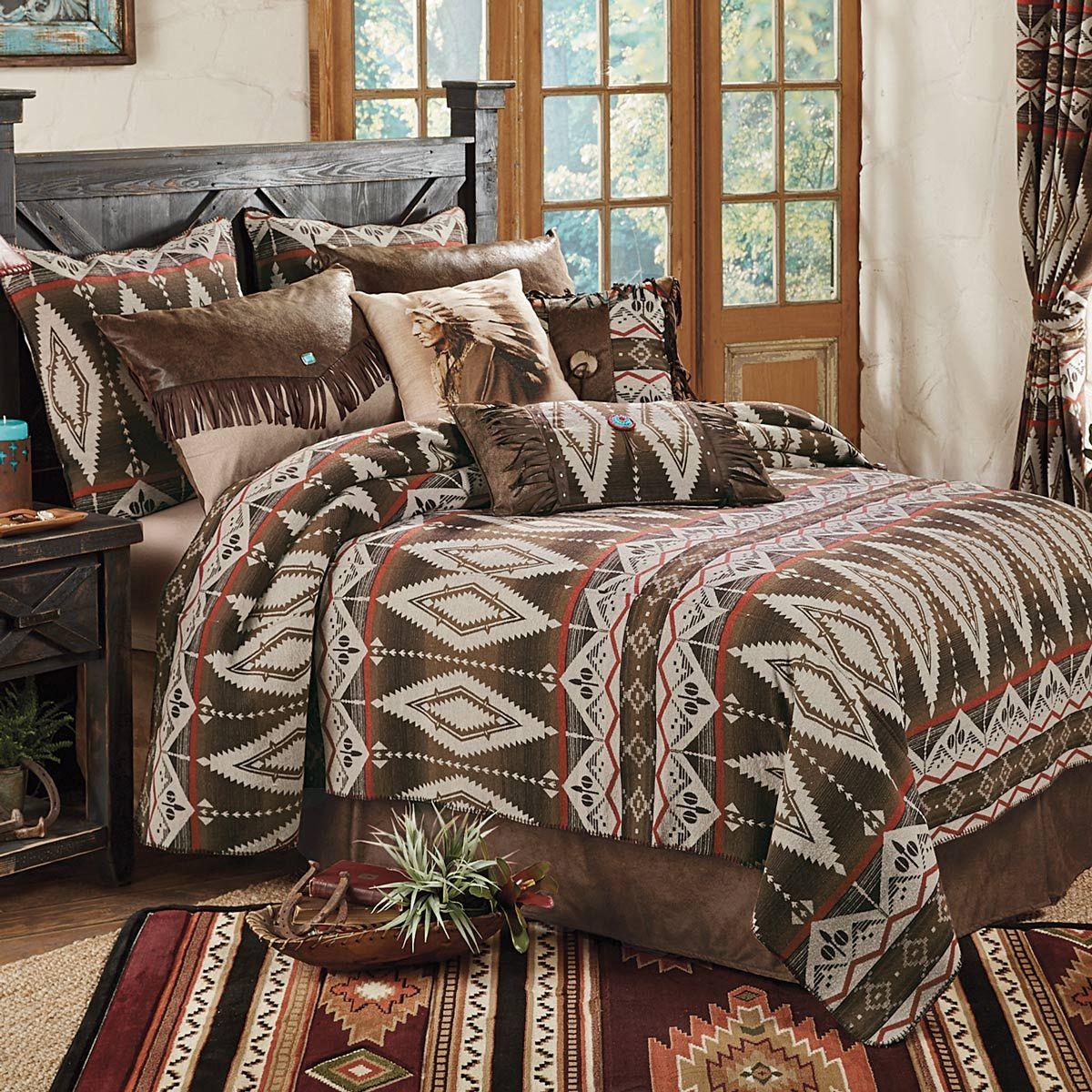 Native American Bedding Western Bedding Southwestern Bedding Bedding Sets