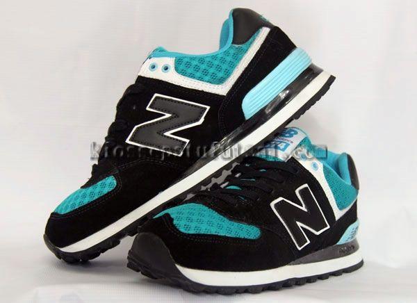 Sepatu New Balance 574 Hitam Birumuda Harga 220 000 Kode New