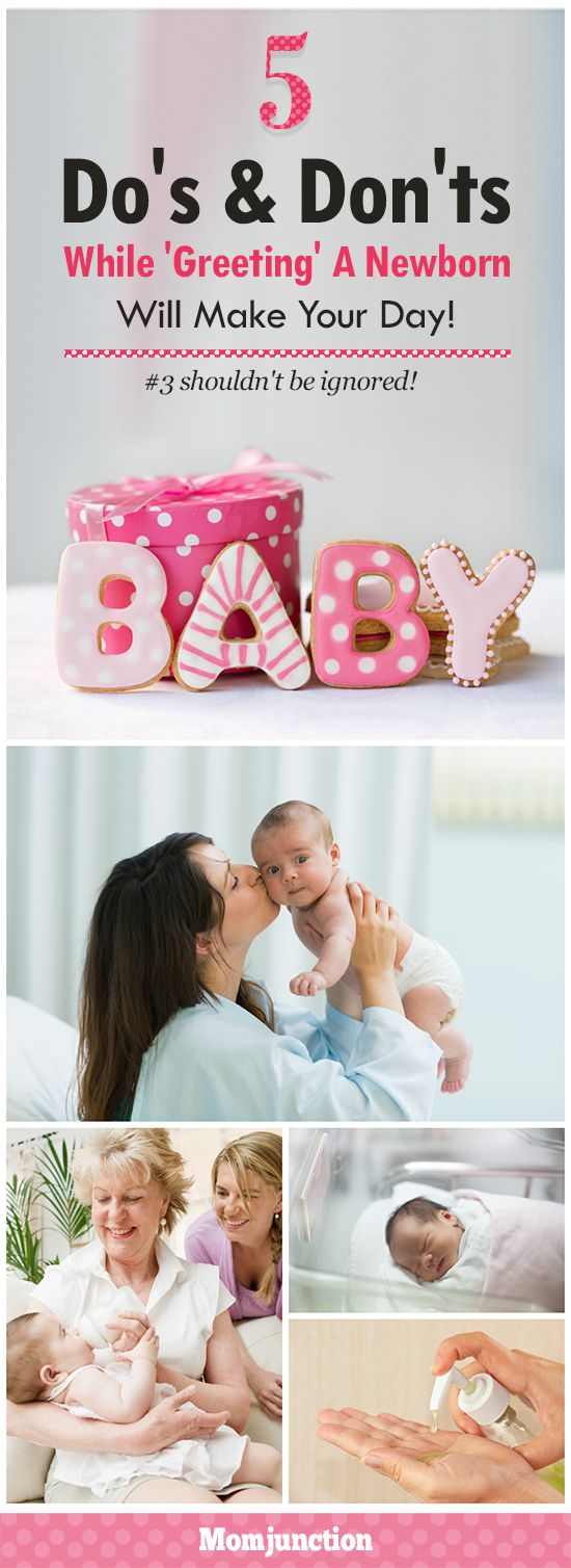 These 5 Do's & Don'ts While 'Greeting' A Newborn Will Make Your Day! Number 3 Shouldn't Be Ignored!