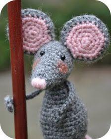 Grietjekarwietje Haakpatroon Pita De Muis 3 Figurine Crochet