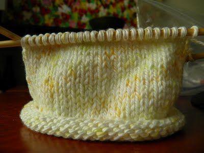 NobleKnits Knitting Blog: WIP Wednesday + Baby Hat Free Knitting Pattern