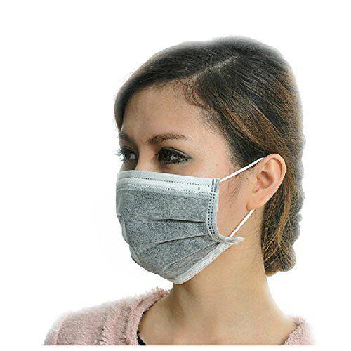 virus surgical charcoal mask