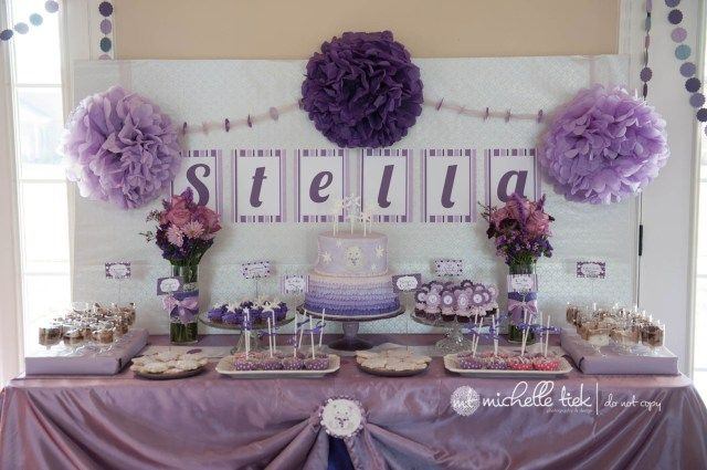 20 Great Image Of Birthday Cake Table Decoration Ideas In 2020 With Images Purple Birthday Party Cake Table Decorations Birthday Cake Table Birthday