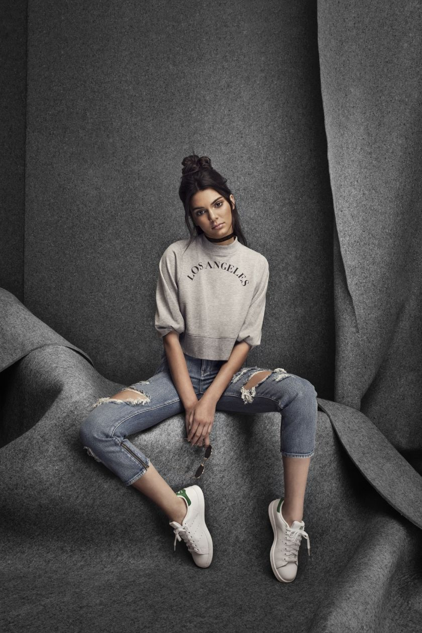 Snaps: Kendall Jenner in adidas Originals for PacSun — CNK Daily (ChicksNKicks) – Simply Beauty