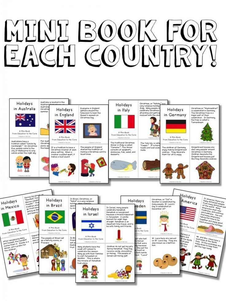 Christmas Around the World Activities and a FREEBIE ...