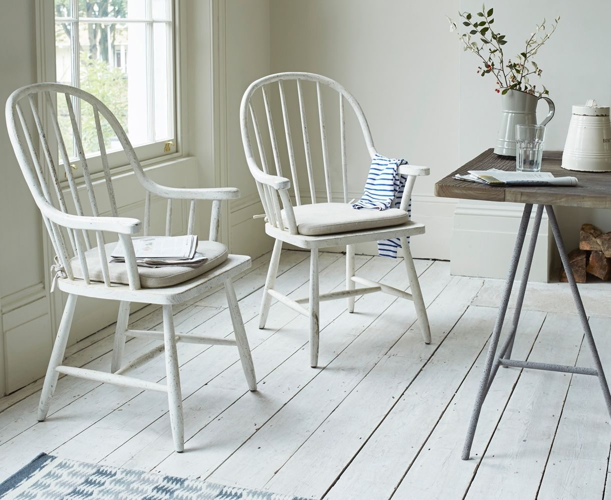 White Kitchen Chair With Arms & White Kitchen Chair With Arms | http://sodakaustica.com | Pinterest ...