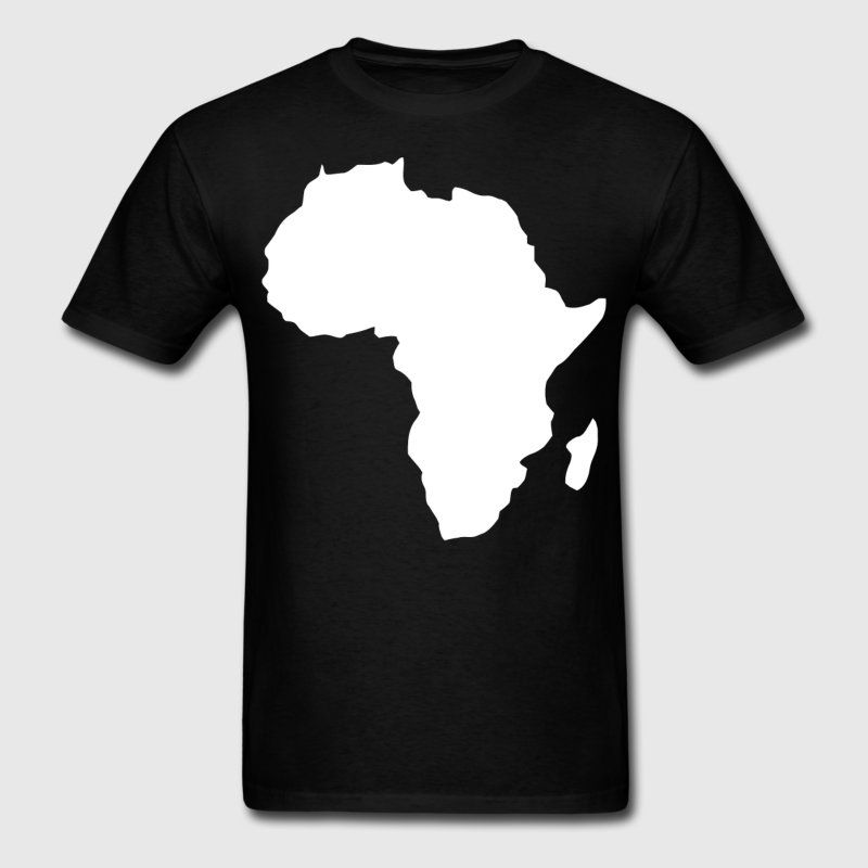 Africa Map T Shirt Pin on FROM SPREADSHIRT