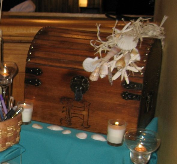 17 Best images about cards – Wedding Treasure Chest Card Box
