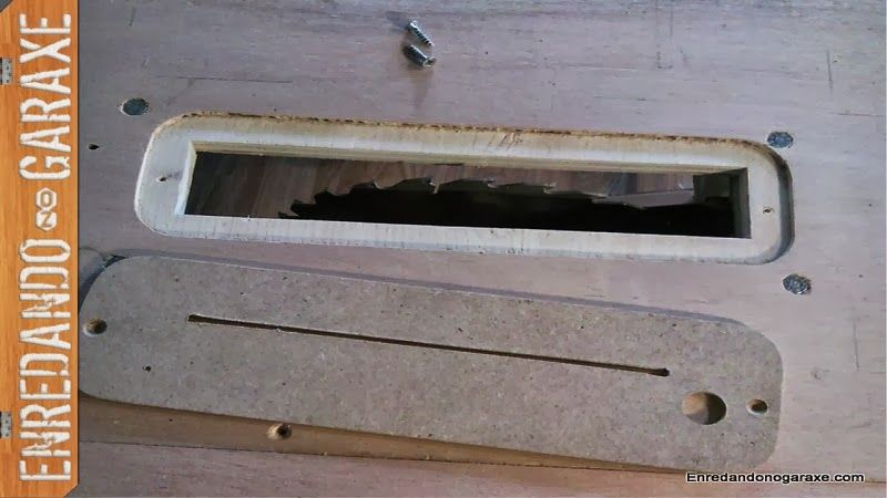 Como hacer inserto para la sierra de mesa casera madera for Mesa fresadora casera