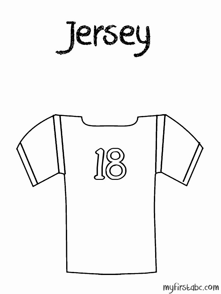 Football Jersey Coloring Page Luxury Free Printable Coloring Pages Sport Jerseys Coloring Home Football Coloring Pages Football Jerseys Sports Coloring Pages