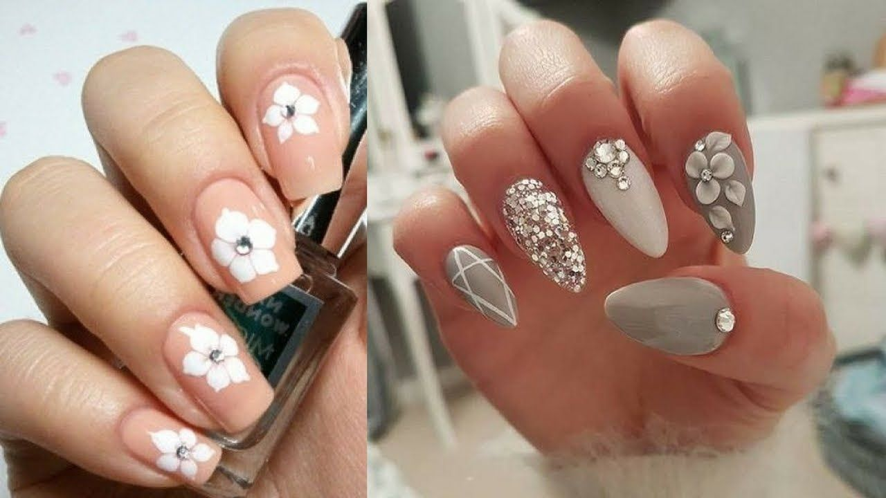Nail Art For Short Nails For Beginners At Home 7 Video Pinterest