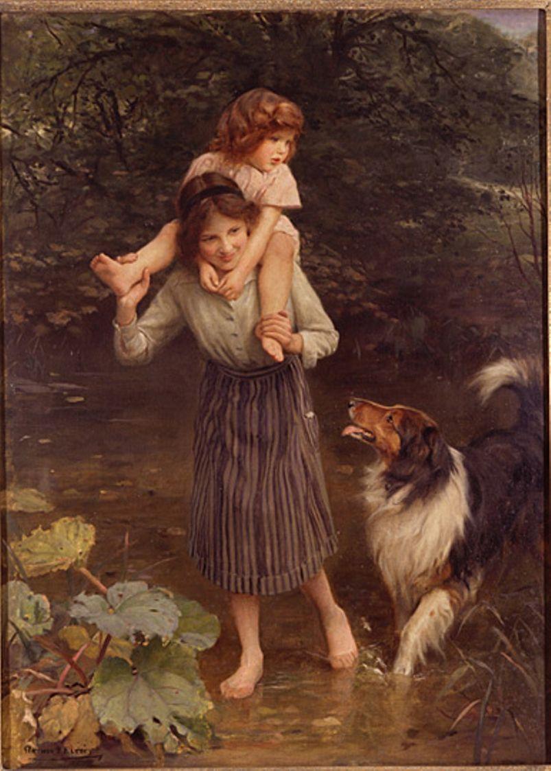 Arthur john elsley 1860 1952 peintre arthur john for Artiste peintre anglais