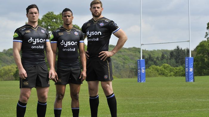 Bath Rugby And Canterbury Reveal 150th Anniversary European Kit With Images Rugby Rugby News World Rugby
