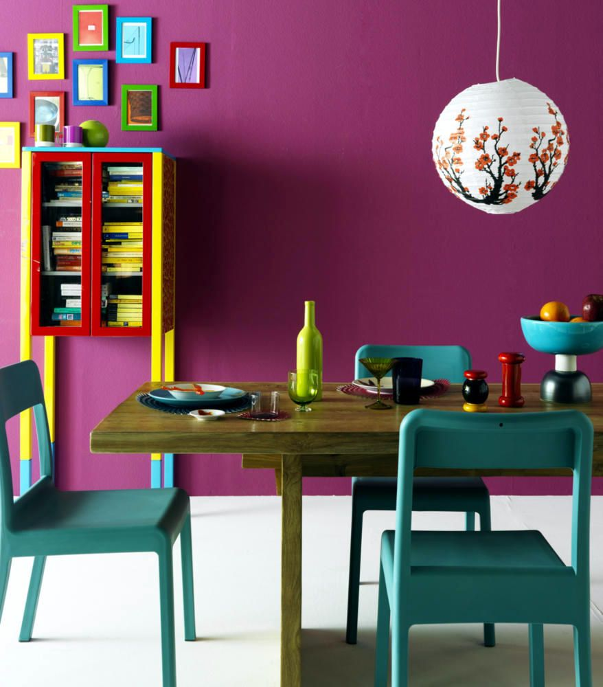 Bright Colored Room Ideas: Nippon Paint Malaysia Colour Code: Latin Dance NP R 1309 A