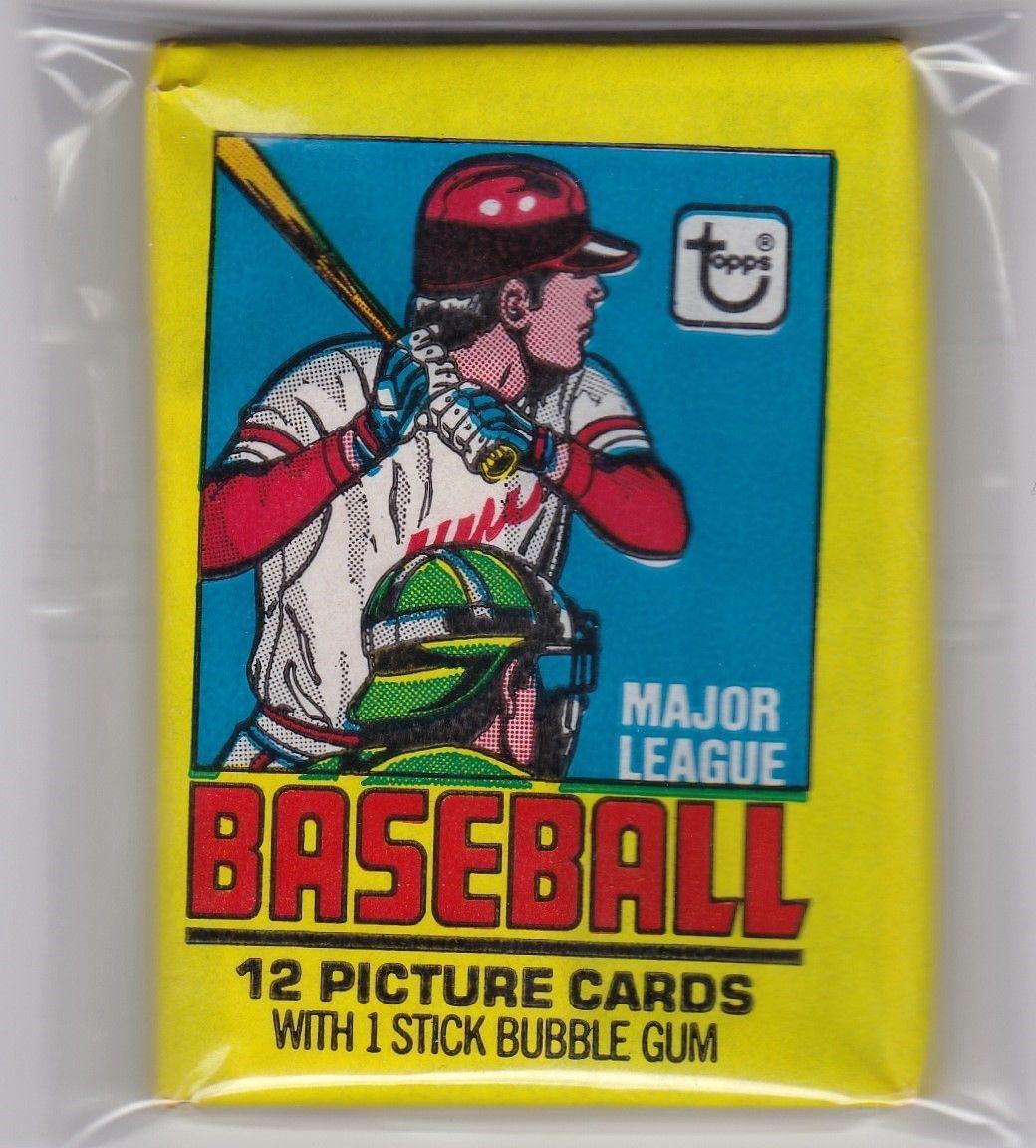 1979 topps baseball wax pack guaranteed unopened get