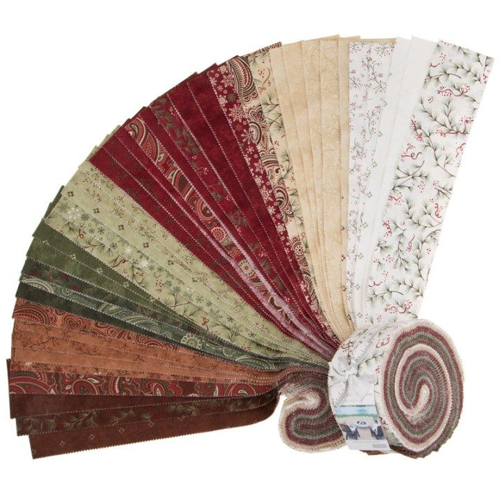 christmas jelly roll fabric holly taylor for moda at kimberlys fabric stash