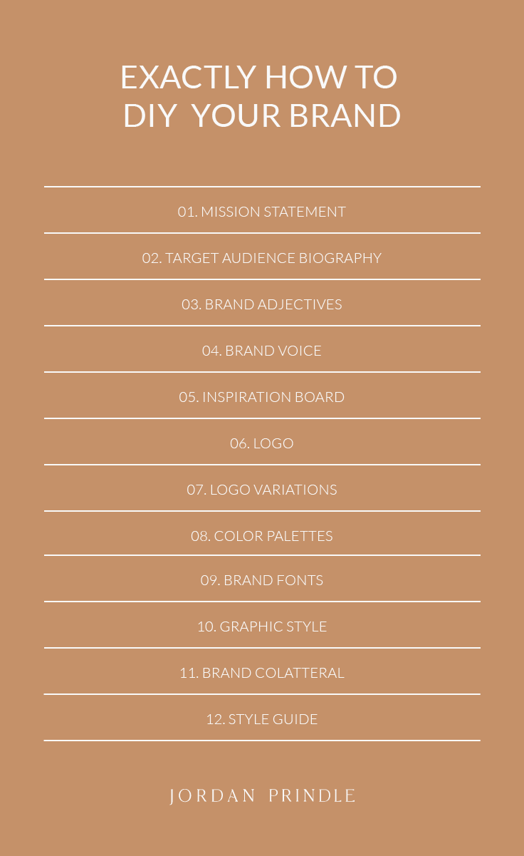 12 Practical Steps to Design Your Brand From Start