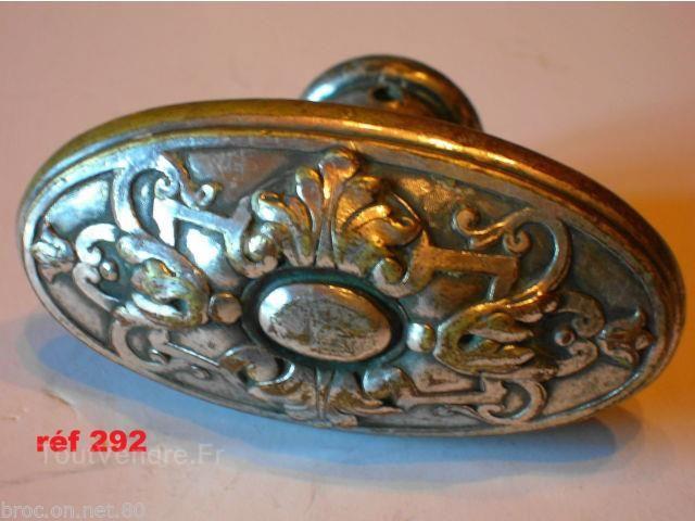 Ancienne poignee fenetre cremone porte serrure bronze chatea en france