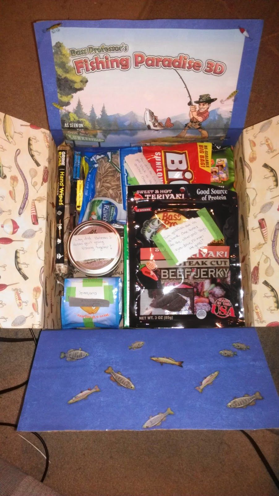 All For My Sailor: Care Package #3 - Fishing Paradise