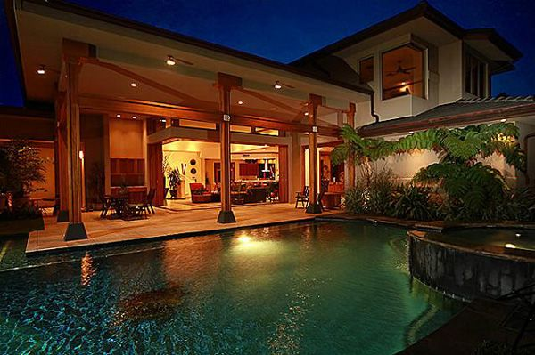 Beautiful Homes In Hawaii kahala home with contemporary elegance   architects, real estate