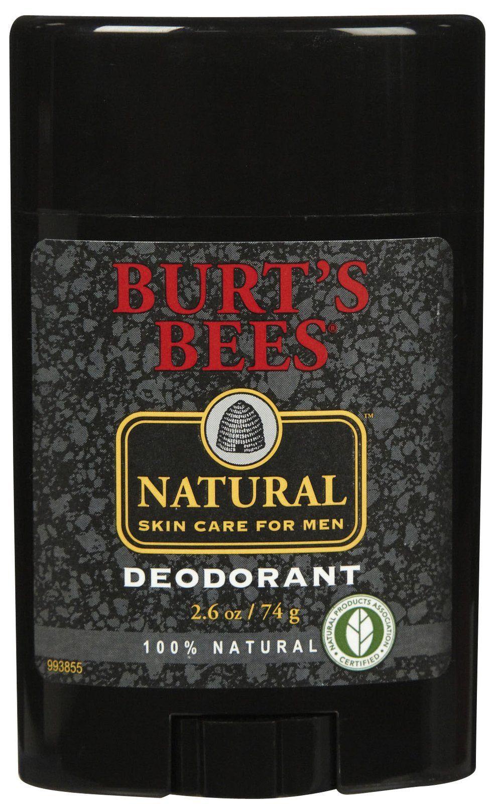 Burt's Bees Men's Deodorant 2.6 oz Free Shipping Mens
