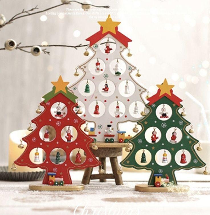 크리스마스 인테리어 메리메리 미니트리 3종 Diy 파티 장식 크리스마스 인테리어 크리스마스 나무