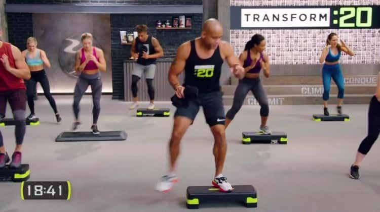 Transform 20 Free Sample Workout Step Aerobic Workout Step