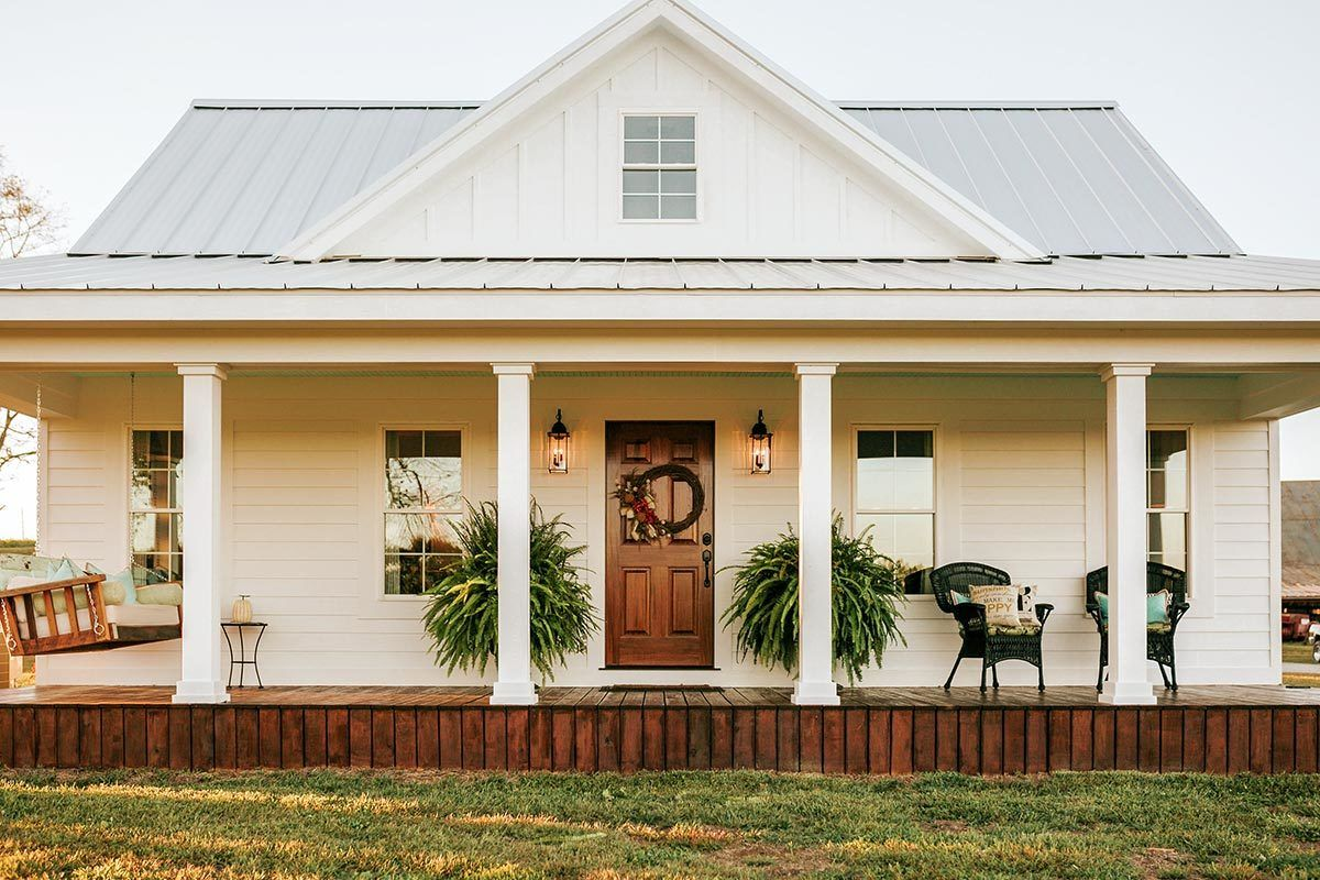 Plan 77640fb Bright And Airy Country Farmhouse House Plans