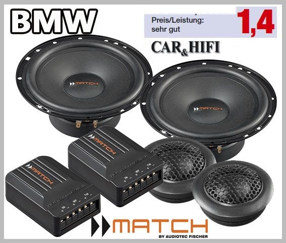 BMW Compact E46 Car Speakers Loudspeaker Upgrade Kit Front